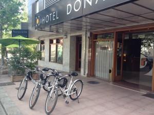 BICI hotel Doña Lola Castellon